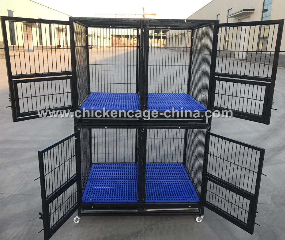 Hot Selling Bully Dog Cages With Plastic Floor And Cage For Dog (Cheap And Good Quality)