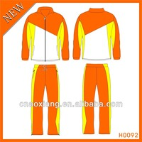 Warm up sublimated sport track suit