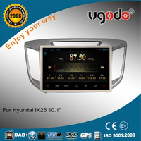 "RK PX3 tablet android 10.1"" auto car radio for hyundai ix25 2015 gps navigation"