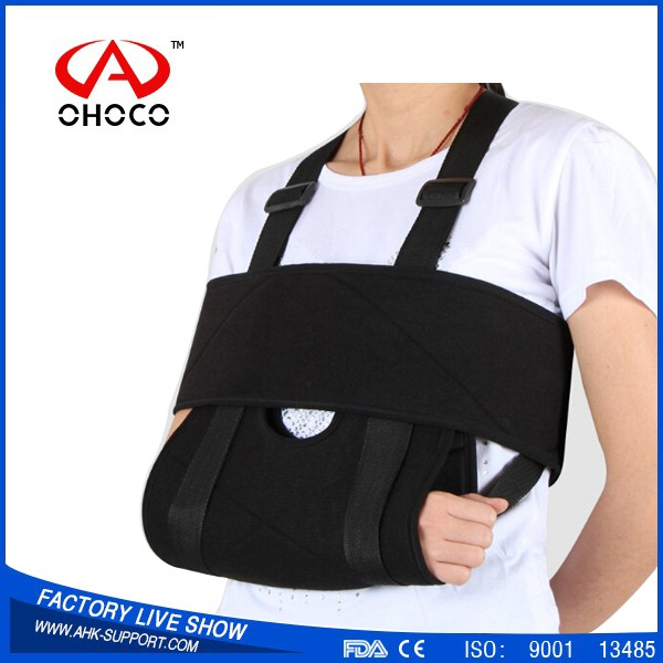 2017 hot sell,orthopedic function,breathable,adjustable,Triangle Arm Sling with CE & FDA