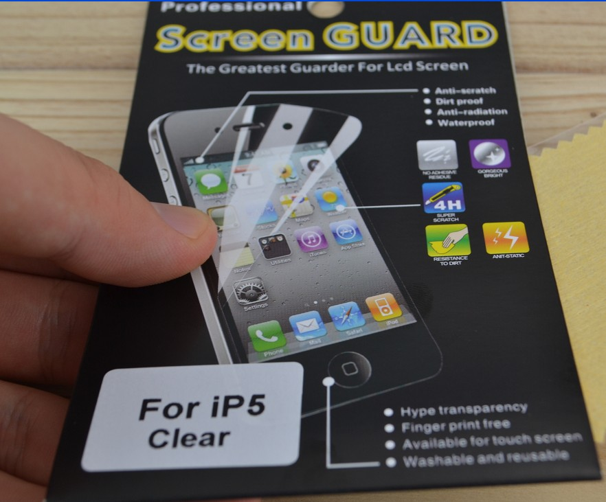 screen gard protector for iphone5;for ipad mini Film;Film manufactory