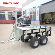 CE ATV Small Utility Trailer for timber