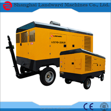 high quality low noise portable diesel compressor engine driven air compressor with factory price