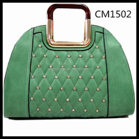 2014 wholesale china leather fashion imported designer bag woman handbag