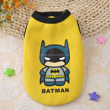 5 Patterns Super Heros Batman dog clothes