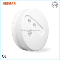 Standalone optical smoke alarm sensor support sound and flash alarm with LED indicator