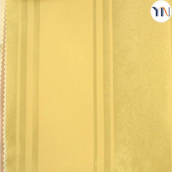 polyester shining strip blackout fabric for window curtain upholestery fabric china whole sale sample free