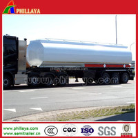 phillaya New Commercial Vehicle 3 Axle liquid chemical diesel Fuel oil Tank Truck