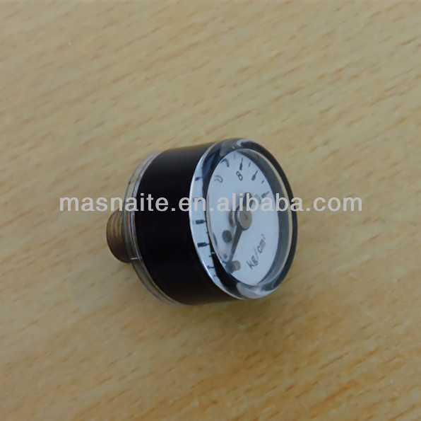 25mm plastic mini pressure gauge