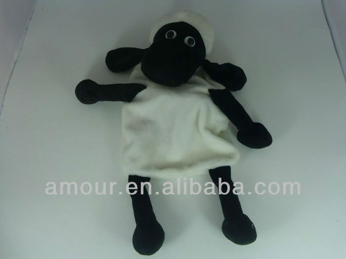 plush hot water bag cover plush sheep shape