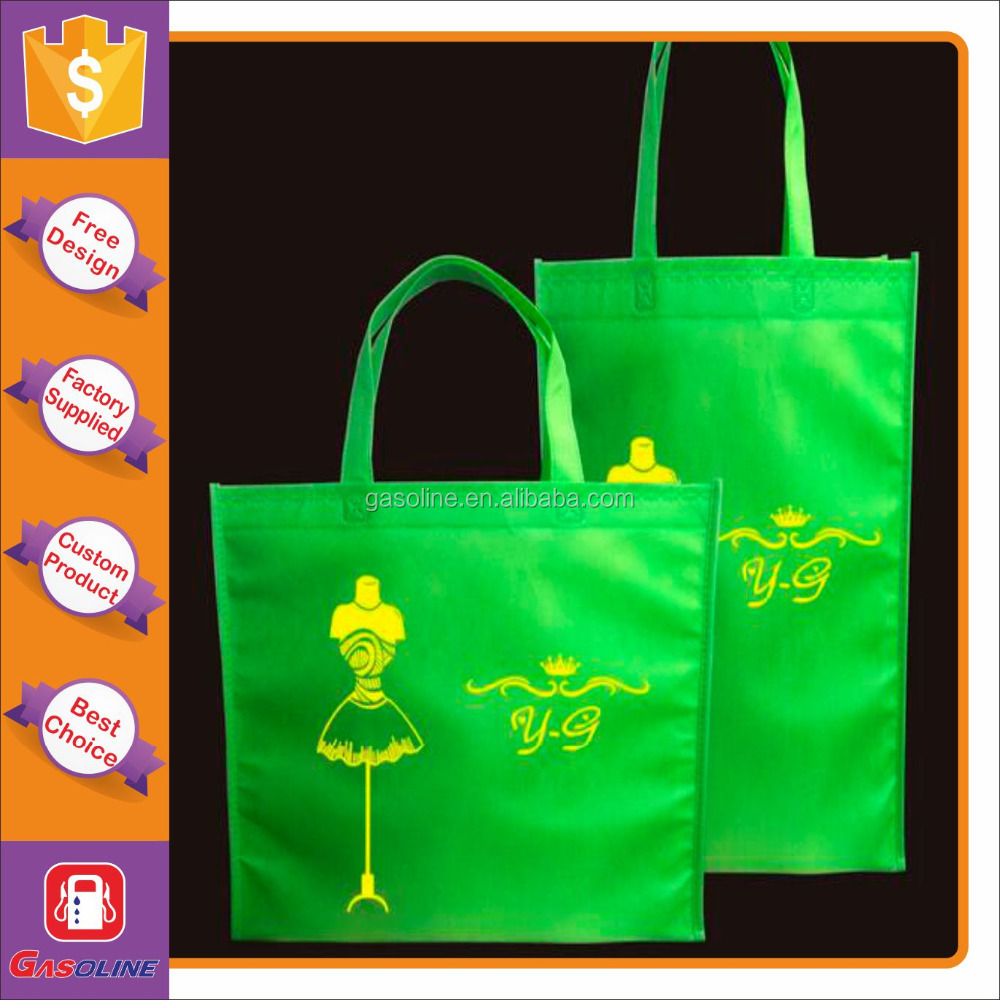 Best selling high quality foldable non woven bag printed logo