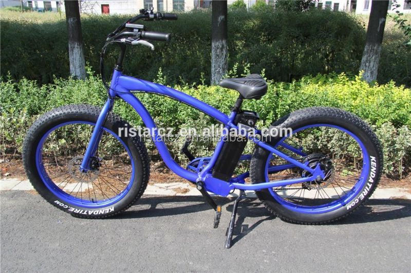 Wholesale 26 Inch Racing Fat Tire Electric Bike RSEB505