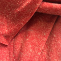 85% polyester and 15%linen jersey fabric