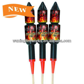 Double Click rocket Fireworks 1.4G rocket