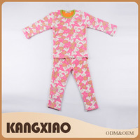 Customized nice anti-pilling knitted cute pink girl clothes