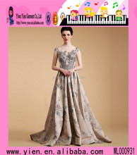China Supplier Mother Of The Bride Evening Dress New Design Elegent Champagne Mother Of The Bride Evening Dress
