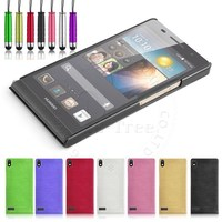 Suger Color Brushed Hard Thin Back For Huawei Ascend P6