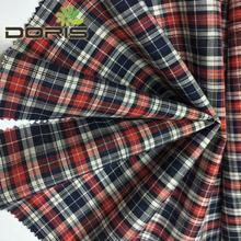 95 GSM 100 cotton yarn dyed fabrics for shirts and blouses
