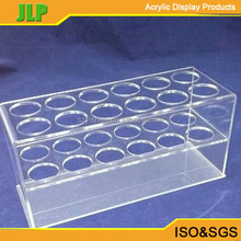 JLP clear function of acrylic test tube rack display wholesale