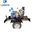 Trailer Mounted Non Clogging Trash Pump