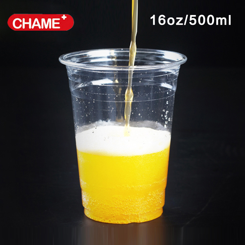 Clear Hard Plastic Cup Rigid Disposable Tumbler Cups Bar Catering 5 Sizes