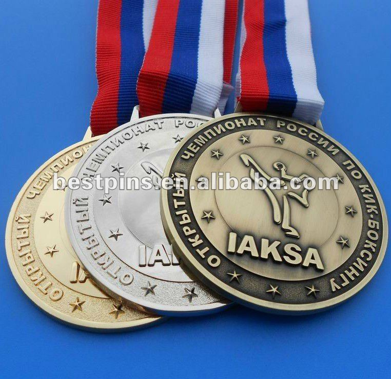 electroplating metal taekwondo trophies and medals china