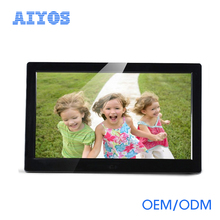 Wifi Android IPS 10 inch AD Player touch screen LCD monitor with HD-MI USB