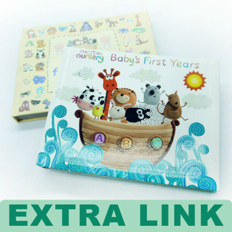 EXTRALINK Baby Memory Photo Book Custom Coloring Book Printing Kid Child Book