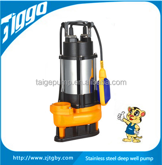 Widely used stainless steel submersible centrifugal sewage water pump