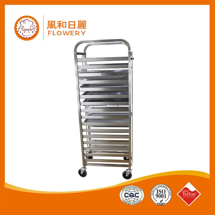 Hot selling gas bread baking trolley oven equipment with low price