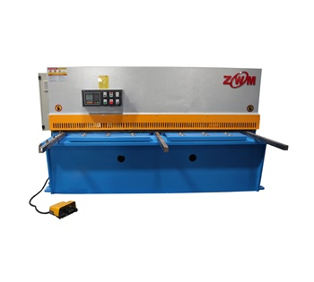 Professional heavy duty Metal sheet Shearing Machine 10Mm Thick Metal Cutting Made In China