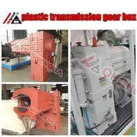 2 speed transmission gearbox for twin screw extruder