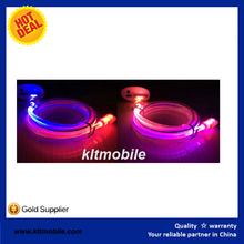 flat cable lighting New Smile Face USB Cable With Led Light