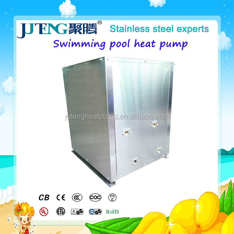 5kW Water to water Swimming pool small Heat Pump manufacturer with CE,CCC,ISO Juteng Jacuzzi, Massage Bathtub geothermal heater
