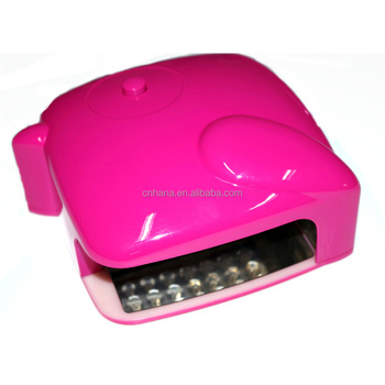 New arrivals 2019 finger uv nail lamp dryer from supplier CIXI WODE