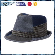 New and hot all kinds of woolen homburg hat from China