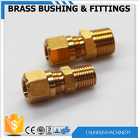 CR-508 brass compression fitting for copper pipe