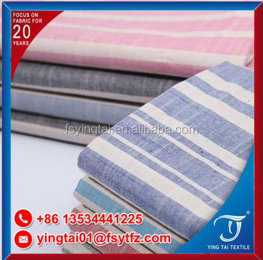 China manufacturer TC/CVC/TR cotton fabric lots stock for shirt garment