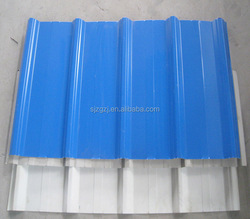 environmental durable pp corrugated sheet / roofing shingles prices