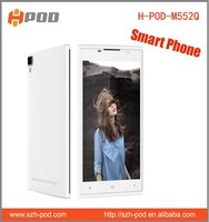 dual sim phone smart phone 5.5 inch android 4.4 mobile phone with usb otg