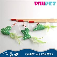 Wholesale cheap factory supply cat fishing rod toy
