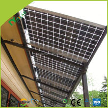 Best Transparent mono solar panel/BIPV PV module