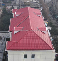 light weight composite synthetic resin roof tiles wall tiles