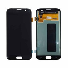 China manufacturer supply screen digitizer display for samsung galaxy s7 edge lcd