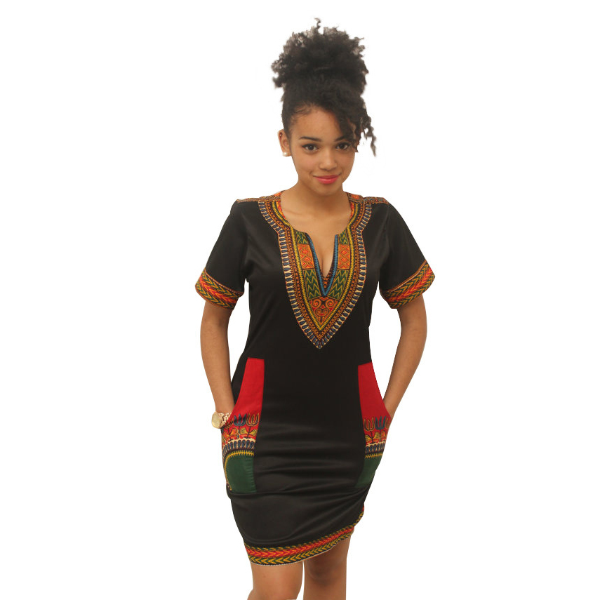 S8221 cheap beautiful african kitenge dress designs african clothes