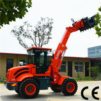 Multifunction Wheel Loader with high tip bucket