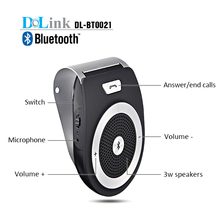 Bluetooth Visor Speakerphone Handsfree Car Kit