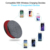 Wireless Charger, Qi Wireless Fast Charging Pad Station Mat 10W 7.5W Compatible iPhone X MAX X 8 Plus Samsung Galaxy S9 S8 S7 S6