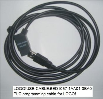 Siemens LOGO PLC to laptop USB programming cable.