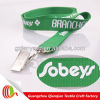 New material promotional silk screen ID card holder lanyard stylus